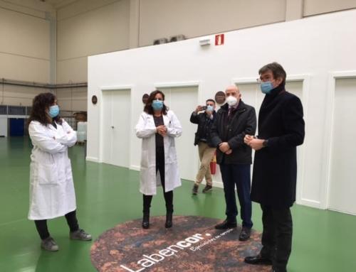 Visit of the Mayor of Vitoria-Gasteiz, Gorka Urtaran